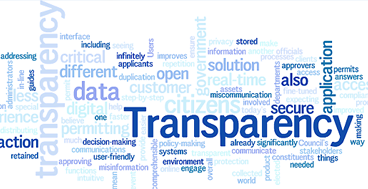 Transparency in event permitting is critical to customer satisfaction