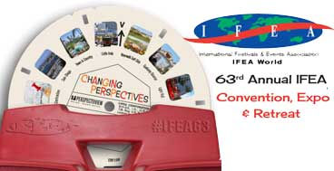 eproval to attend 63rd IFEA Convention: Changing Perspectives in the Event Industry