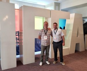 Jonathan Thompson and Duncan Mueller at 64th IFEA Conference